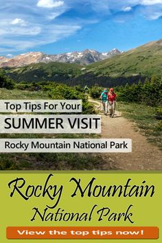 Space Guide Rocky Mountain National Park in Colorado ✅ for this summer! Hiking, road trip and more. Grand Lake Colorado, Colorado Hiking, Rocky Mountains, Solo Travel, Travel Tips, Rocky Mountain National Park, National Forest, Family Road Trips, Estes Park