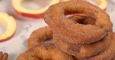 Miss apple pie season? Love fried onion rings and want a dessert version? Looking for a new treat to delight your family? Then check THIS out!