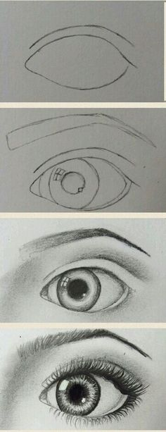 Need some drawing inspiration? Well you've come to the right place! Here's a list of 20 amazing eye drawing ideas and inspiration. Why not check out this Art Drawing Set Artist Sketch Kit, perfect for practising your art skills. Cool Eye Drawings, Realistic Eye Drawing, Drawing Eyes, Pencil Art Drawings, Art Drawings Sketches, Easy Drawings, Painting & Drawing, Easy Eye Drawing, Large Painting