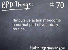 BPD Things: