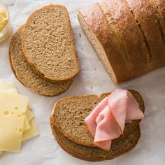 Rye flour contributes little structure to bread and soaks up water like a sponge. So how do you make a tender loaf strong enough to hold up under a pile of sandwich fixings?