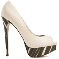 ALDO Peep Toe High Heeled Shoes and other apparel, accessories and trends. Browse and shop 7 related looks.
