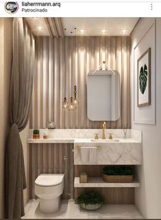 Super ideas for small bedroom remodel toilets Modern Bathroom Design, Bathroom Interior, Small Bedroom Remodel, Remodel Bedroom, Bathroom Design Luxury, Luxury Bathroom, Bathroom Decor, Modern Powder Rooms, Washbasin Design