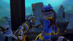 Sir Galleth Cooper and Sly Cooper in Sly Cooper: Thieves in Time