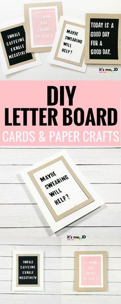 #letterboard DIY Let