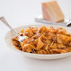 Bolognese Sauce and noodles