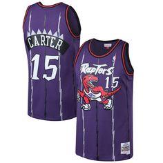 ca35c39300d Vince Carter Toronto Raptors Mitchell   Ness 1998-99 Hardwood Classics  Swingman Jersey - Purple