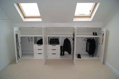 Afbeeldingsresultaat voor wardrobe solutions for loft conversion
