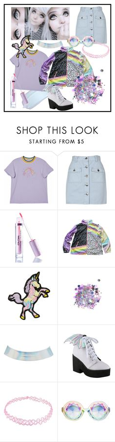 """«{¥^¥}»"" by ethereal-eternity ❤ liked on Polyvore featuring MINKPINK, Lime Crime, Stoney Clover Lane, The Gypsy Shrine, Charlotte Russe and Iron Fist"