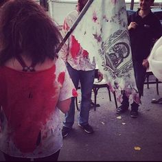 L'étendard sanglant est levé #boostbastille #zombierun #halloween