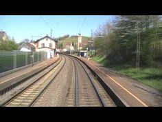 Führerstandsmitfahrt: Muttenz - Offenburg via alte Rheintalbahn - upscale