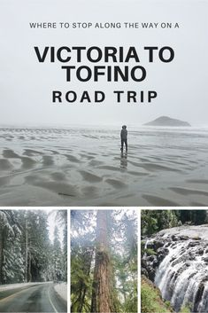 Driving from Victoria to Tofino - Road Trip Tips From A Local - Solemate Adventures - Driving from Victoria to Tofino is a classic Vancouver Island road trip. Vancouver Island, Vancouver Travel, Road Trip Essentials, Road Trip Hacks, Alberta Canada, Quebec, Places To Travel, Places To See, Canadian Travel