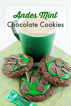 Andes Mint Chocolate Cookies Recipe for St. Patrick's Day
