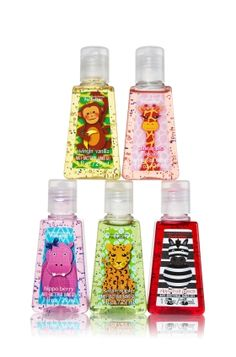Animals 5-Pack PocketBac Sanitizers - Anti-Bacterial - Bath & Body Works so cute!!!!