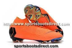a74bed50c3 Nike Mercurial Superfly VI 360 Elite FG Sock Football Boots - Total  Orange Black