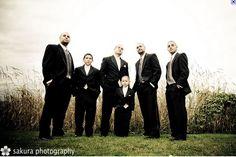 groomsmen and ring bearers