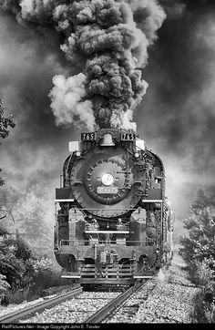 RailPictures.Net Photo: NKP 765 Nickel Plate Road Steam 2-8-4 at North Judson, United States by John E. Troxler