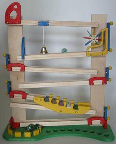 Kugelbahn Modell Klangbahn - Mühle, von Bimmelbahn & Co (http://bibahn.de)