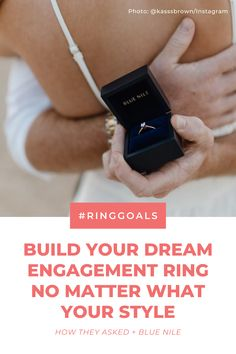 Vintage, round, halo or oval—no matter what your engagement ring style, you can create a beautiful diamond ring with Blue Nile. 💕 #ad Dream Engagement Rings, Engagement Ring Styles, Engagement Couple, Engagement Pictures, Picture Of Doctor, Beautiful Diamond Rings, What's Your Style, Blue Nile, Halo