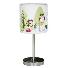Lampada da tavolo per bambini con gufo | La Cameretta di Pippi