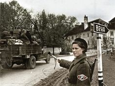 Red Army in the suburbs of Vienna 1945
