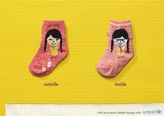Unicef: Socks | Ads of the World™