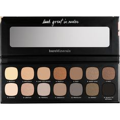 bareMinerals The Nature of Nudes Palette