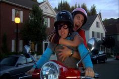 """Hoping I don't scream like a girl when he takes me on one of his """"fast"""" rides!"""
