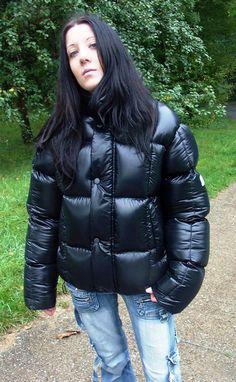 shiny puffer jacket - Google Search