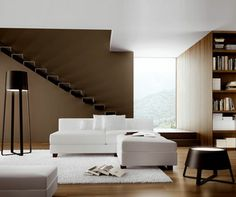 Side Table & Floor Lamp