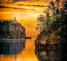 Split Rock Lighthouse, Minnesota, USA - by Rikk Flohr