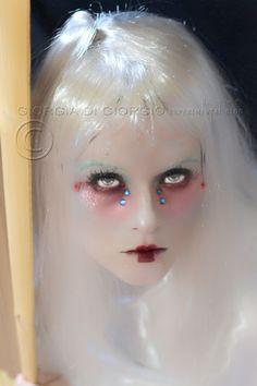 Theatrical makeup - Ghost makeup