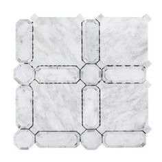 Jeff Lewis Windsor 11 5 X2f 8 In X 11 5 X2f 8 In X 10 Mm Marble Mosaic Tile 98473 At The Home Depot Mo Marble Mosaic Tiles Mosaic Floor Tile Mosaic Tiles
