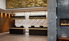 LEMAYMICHAUD | Marriott | Calgary | Architecture | Design | Hospitality | Hotel | Country | Cowboy | Concrete | Wood Calgary, Architecture Design, Concrete Wood, Hospitality, Country, Room, Furniture, Home Decor, Store