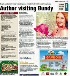 Recently I was invited back to beautiful Bundaberg. Bundy, as the local's affectionately call it will always be close to my heart. Pink Lemonade, Names, Author, Cooking, Kitchen, Writers, Brewing, Cuisine, Cook