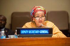 La Vice-Secrétaire générale de l'ONU appelle à accélérer le rythme de la mise en œuvre des #ODD