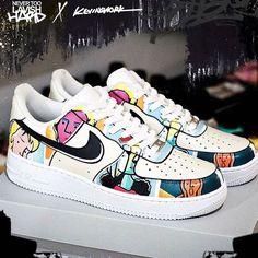 Sneakers Mode, Custom Sneakers, Sneakers Fashion, Fashion Shoes, Custom Painted Shoes, Custom Shoes, Jordan Shoes Girls, Girls Shoes, Nike Air Max Zero