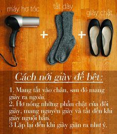 Cách làm cho chân ko bị phồng rộp khi đi giầy mới