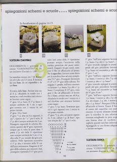 "Photo from album ""Le bomboniere piu belle - on Yandex. Crochet Bowl, Crochet Gifts, Views Album, Wedding Favors, Crochet Baskets, Fili, Sachets, Yandex Disk, Cosy"