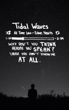 This song is absolute perfection-Tidal Waves-All Time Low!
