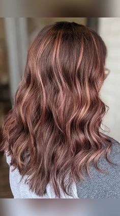 Going brunette but confused about which shade to choose? Satisfy your curiosity by hopping into this woody trend. (Photo credit IG @haircandymd) Mahogany Hair, Hair Color Shades, Latest Hairstyles, Curiosity, Woody, Confused, Photo Credit, Hue, Fancy