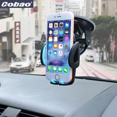 Universal 360/°Rotation Dashboard Cell Phone Mount Compatible with iPhone X // 8//7 // 6//5 Galaxy S8 // S7 // S6 Silver Light Tablets and More GPS MEIDI Magnetic Phone Car Mount