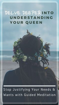 We all fall into people-pleasing patterns at times but there is a way to stop it. Let's find a way through a guided meditation to start claiming what you need and want as important. Embrace your inner queen and see how your life changes around you. Divine Feminine, Sacred Feminine, Feminine Style, Sacred Meaning, Internal Monologue, Sleep Early, Spiritual Awakening, Spiritual Life, Live In The Present