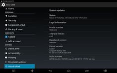 Android KitKat 4.4.2 version installed on E-ceros Vision tablet ~ China Gadgets Reviews