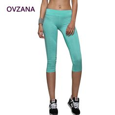 Find More Yoga Pants Information about Super Elastic Yoga Pants Women Slim Capris Running Leggings 5 Colors Sport Tights Workout Clothes for Women Excercise Clothing,High Quality legging leather,China leggings jumpsuit Suppliers, Cheap pants for pregnant women from Fashion brand RA on Aliexpress.com