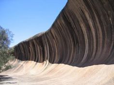 Wave Rock  Perth, Australia. Have a black and white of this that Dad took in 1964. I think an update is due!