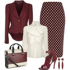 """""""Maroon Chic"""" by stylecrushh on Polyvore"""