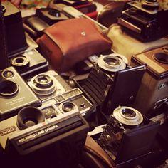 Bygone camera props!