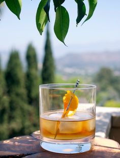 "Orange-Pecan American Triology a. ""The Clusterf*ck"" Bar Drinks, Yummy Drinks, Alcoholic Drinks, Beverages, Christmas Cocktails, Craft Cocktails, Lemon Drink, Cocktail Making, Slushies"