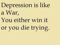 Suppress your Depression